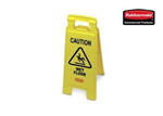 """CAUTION WET FLOOR"" Double Sided universal Sign"
