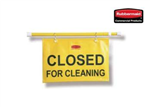"""Closed for Cleaning"" Hanging Sign"